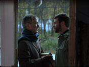 "David Strathairn & Daniel Gillies in ""The Sensation of Sight"""