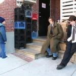 Josh (Anthony Swingle), Drifter (Ian Somerhalder) & Tripp (Joseph Mazello)