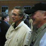 David Strathairn and executive producer Buzz McLaughlin at the Denver Film Festival