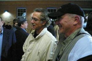 David Strathairn and me in Denver